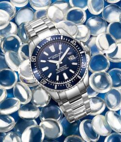 stuhrling pro diving watch